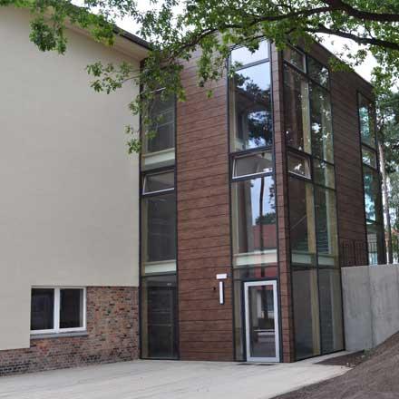 Fenster und Fensterfassaden im Öffentlichen Bereich, Eberswalde, Barnim
